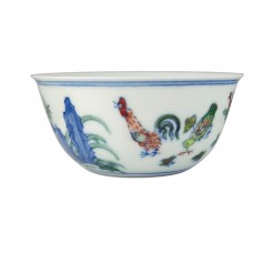 1309 (2)A Ming Cheng-Hua  Doucai chicken cup