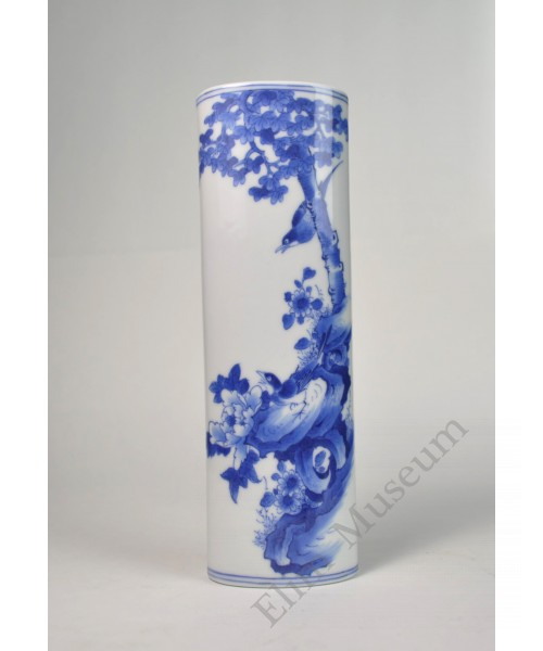 1020   A  Jia-Qing B&W porcelain paper weight