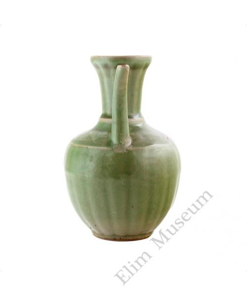 1124 Ming Long-Quan celadon glaze ewer