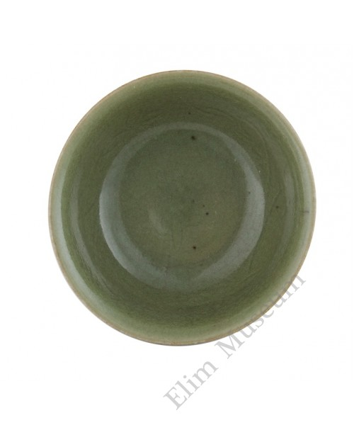 1119(2) Ming Long-Quan celadon glaze bowl