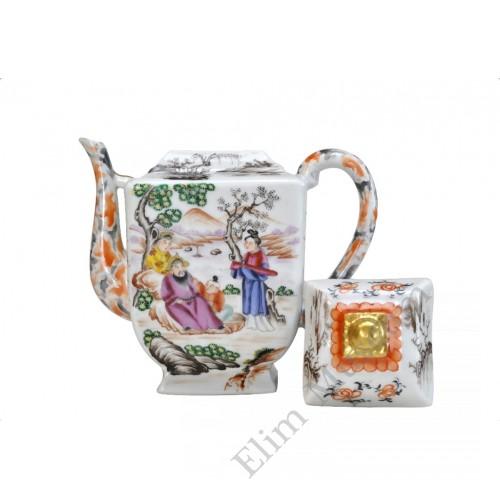 "1110 A Fengcai""Manderine Official"" teapot"