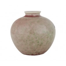 1127 AKangxi peach-red water pot