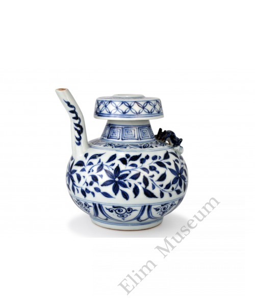 1431 A Yuan  B&W gardenia flower  kendy