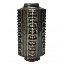 1144 A Long-Quan black clay celadon vase