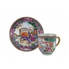 "1152 A Fengcai""Manderine Official"" tea cup/dish"