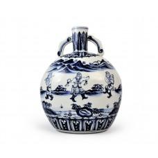 1539  A B&W moon-vase depicting exotic dancers