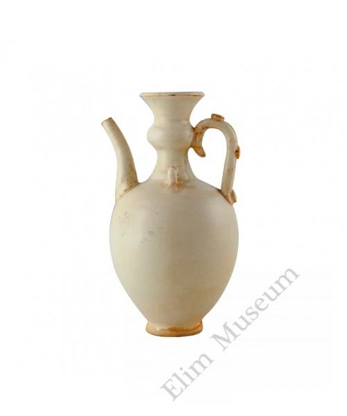 1154  A Pre-Song era Ding-Ware white glaze ewer