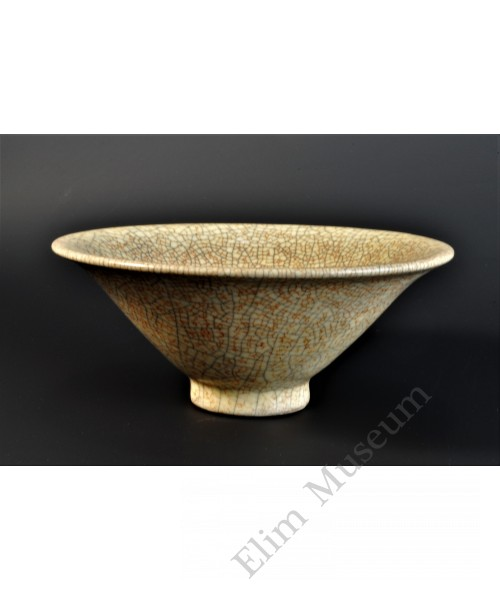 1687 A Ge-ware crackle bowl