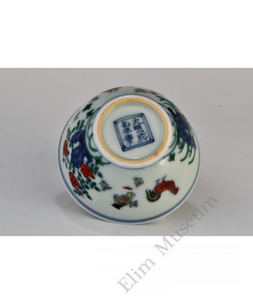 1703 A Chenghua Doucai chicken cup (3)