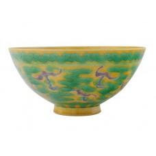 1179 A Kang-Xi San-cai dragon bowl
