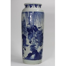 1208 AMing  B&W rolwagen vase
