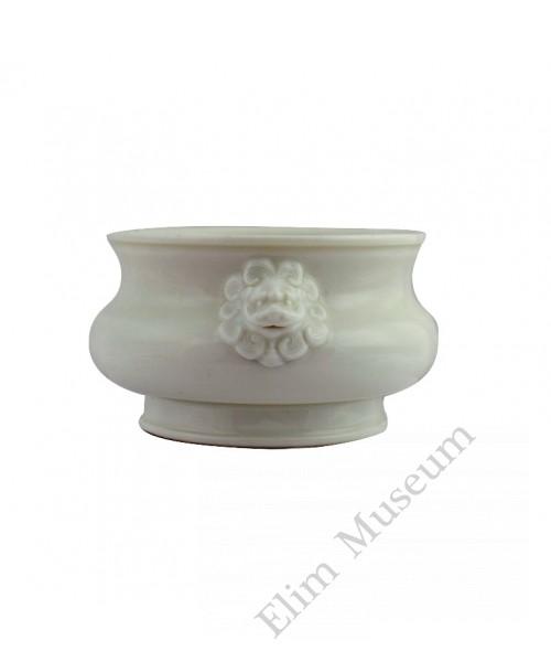1086  A  Cheng-hua  De-Hua ware incense burner .