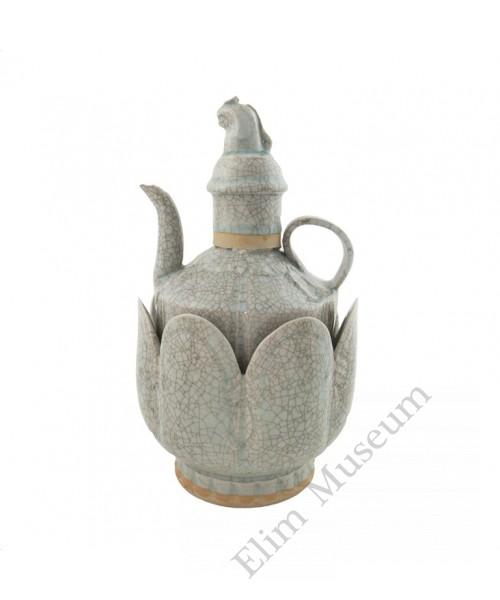 1289   A Yuan Dynasty Hu-Tian Ware (Qing-bai)  Vine Warmer
